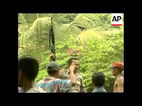 EAST TIMOR: VIOLENCE MARRS INDEPENDENCE RALLIES (2)
