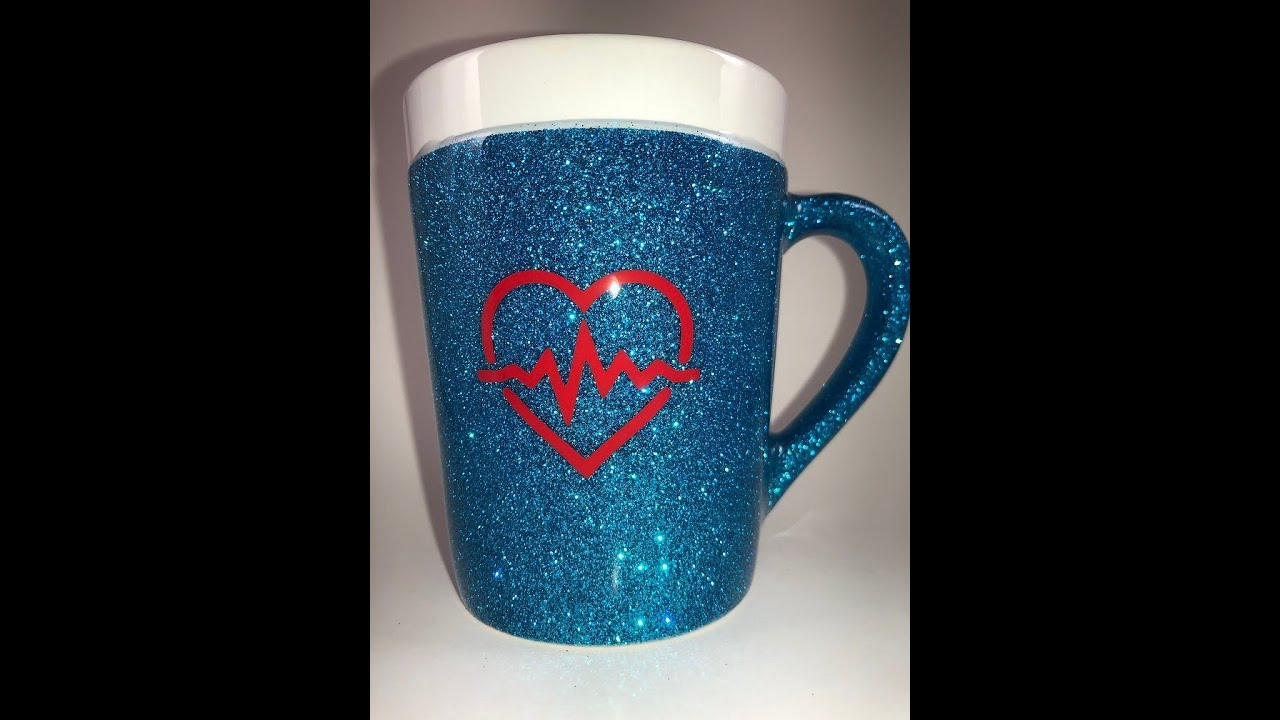 Diy How To Glitter A Coffee Mug Youtube