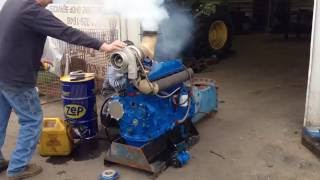 Ford Tractor Engine RESURRECTION