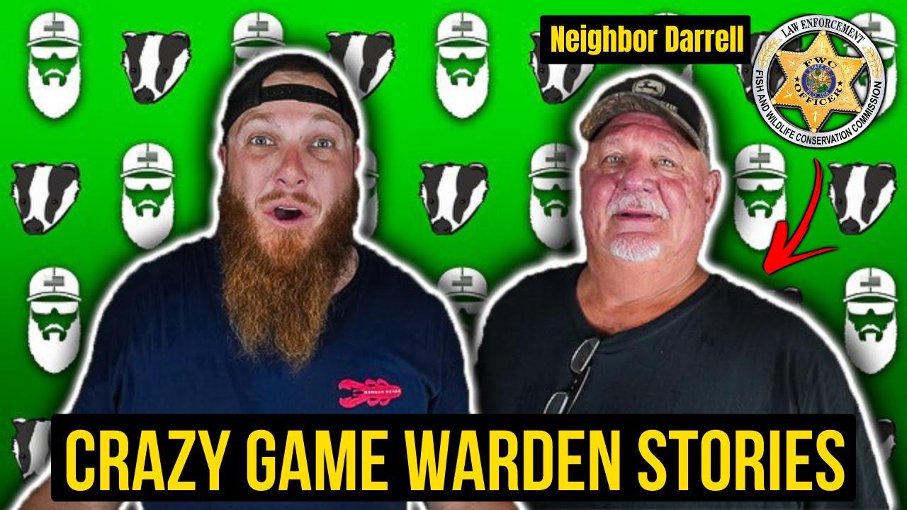 Wrestling ALLIGATORS & Busting DRUG DEALERS - Game Warden Stories w/ Neighbor Darrell - F.A.D. #19