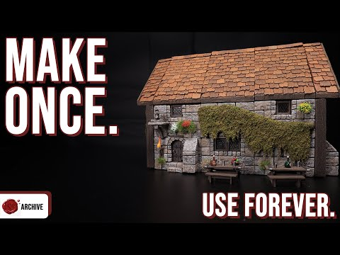 Crafting MODULAR Overgrown Building Effects For D&D