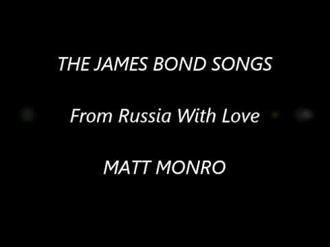 THE JAMES BOND SONGS From Russia With Love MATT MONRO (1975)