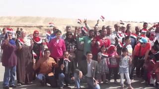 قناة السويس الجديدة : وفد من مدرسة الشعراوى يتفقد مواقع الحفر