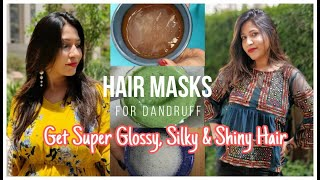 DIY Hair Mask for DANDRUFF Dry Damaged Hair Stop Hair Fall Hair Thinning Boost Hair Growth