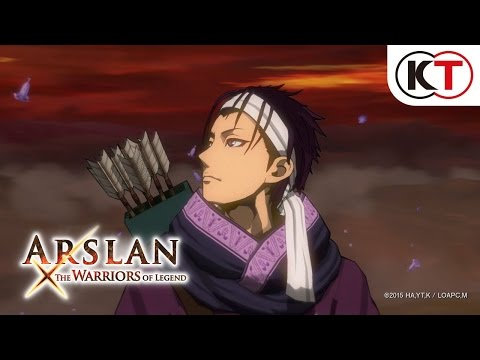 ARSLAN: THE WARRIORS OF LEGEND - ACTION TRAILER