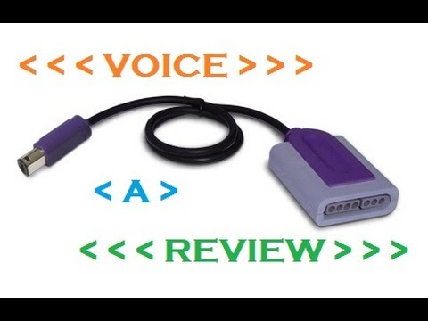 Voice a Review: Episode 19 - Super NES to GameCube Controller Adapter