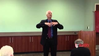 """A Civil Action"" Attorney Jan Schlichtmann at Barry School of Law, April 2013"