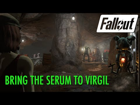 Fallout 4 - Bring the Serum to Virgil (or not)