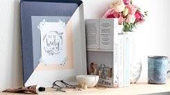 How to create a keepsake photo tray