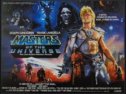 MASTERS OF THE UNIVERSE ( 1987 Dolph Lundgren ) Fantasy Movie  review
