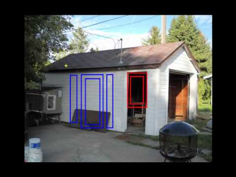 Awesome Converting A Garage Into An Art Studio In Bozeman, MT   YouTube