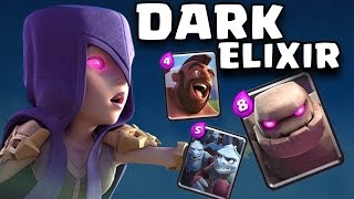 "Clash Royale - ""ALL CoC DARK ELIXIR"" Best Troll Deck (Clash Royale Strategy Funny Moments)"