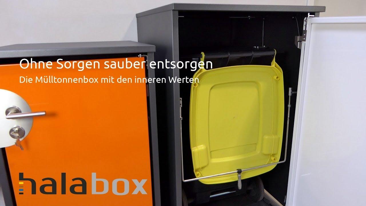 Bezaubernd Mülltonnenbox Aus Paletten Bauen Foto Von Mülltonnenbox Video Halabox Vorstellung Funktion Unterscheidung