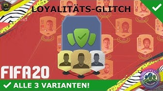 LOYALITÄTS-GLITCH FÜR SBCS! SCHNELL & EINFACH! [ERKLÄRUNG]   DEUTSCH   FIFA 20 ULTIMATE TEAM