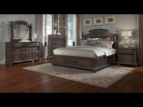 Versailles Bedroom Collection by Klaussner - YouTube