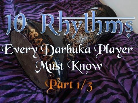 10 Rhythms Every Darbuka Player Must Know, Part 1 of 3: 2/4 Rhythms (Beginning)