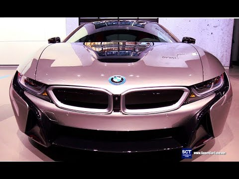 2019 BMW i8 Coupe - Exterior and Interior Walkaround - 2018 New York Auto Show