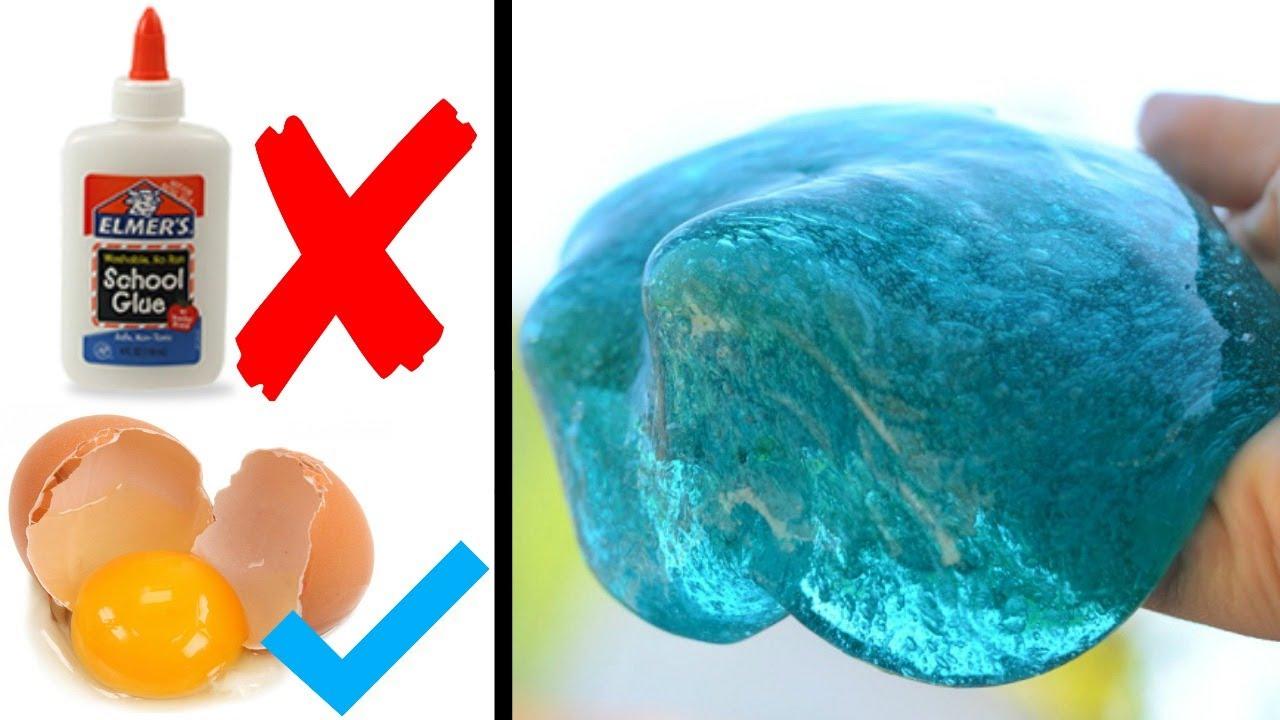 Probando Recetas De Slime Sin Pegamento Youtube