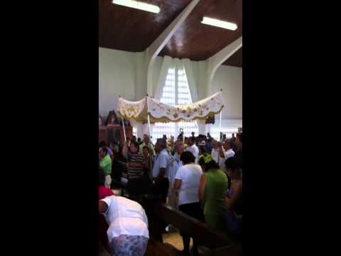 Church in Costa Rica near hotel Liberia