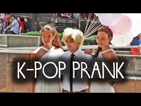 K-Pop Star PRANK in Singapore!!