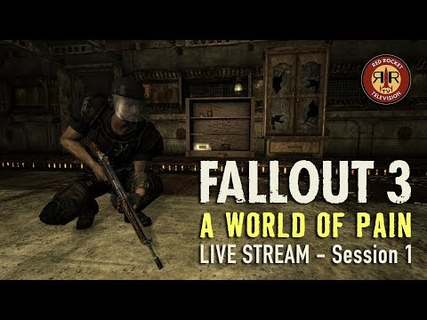 Fallout 3 | A World of Pain | Live Stream | PC Modded | Session 1