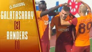 Galatasaray 2-1 Randers MAÇ ÖZETİ (UEFA Avrupa Ligi Play-Off Turu Rövanş Maçı)
