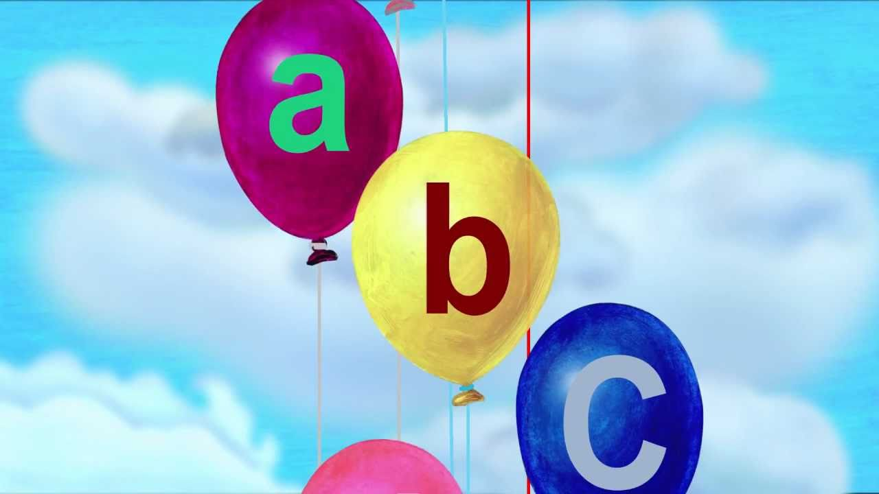 The Alphabet Song (The ABCs) in Lower-Case Letters