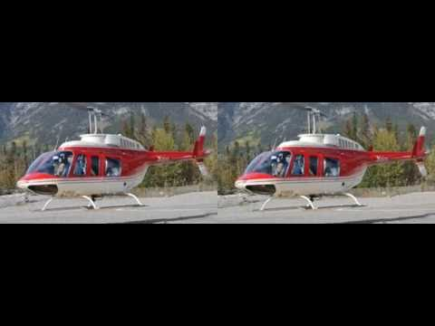 Alpine Helicopters, 3D Photography for VR Headset, 1080p, SBS
