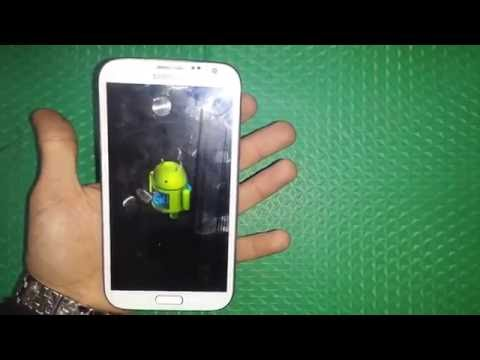 Samsung Galaxy Note 2 GT N7100 Harde Reset