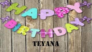 Teyana   Wishes & Mensajes