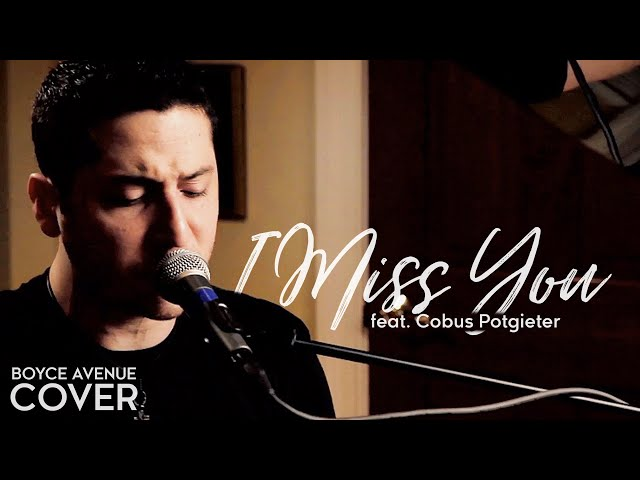 Blink 182 — I Miss You (Boyce Avenue feat. Cobus Potgieter cover) on Spotify & Apple
