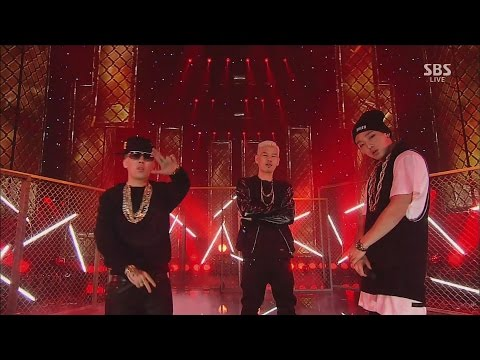 MASTA WU - '이리와봐(COME HERE)'(feat. BOBBY, Dok2) 1207 SBS Inkigayo