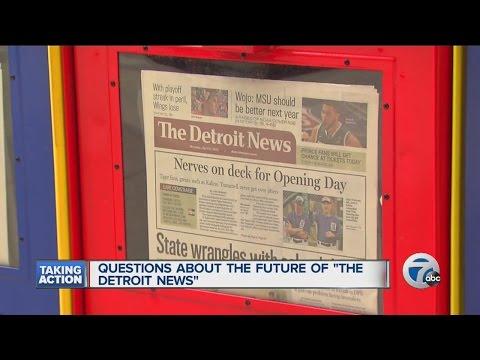 Questions surround future of Detroit News