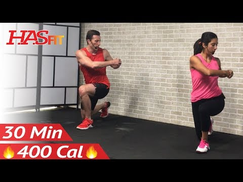 30 Minute Tabata Cardio Workout without Equipment at Home – Full Body HIIT No Equipment Cardio