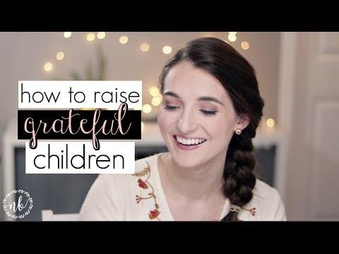 HOW TO RAISE GRATEFUL CHILDREN | ft. our parents' advice! | Natalie Bennett