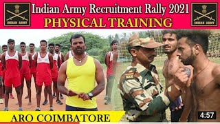 Indian Army Physical Class For ARO Trichy | ARO Chennai | ARO Coimbatoe
