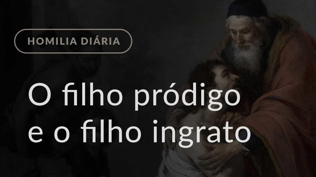 Filho Ingrato: O Filho Pródigo E O Filho Ingrato (Homilia Diária.1115