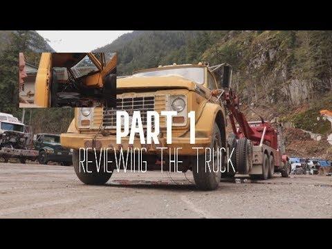 RESTORING OLD TRUCK! (PART.1) || Jamie Davis Towing