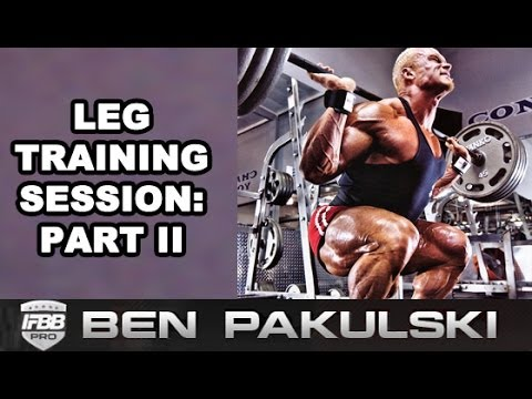 Leg Workout With Ben Pakulski   How to Squat Optimally