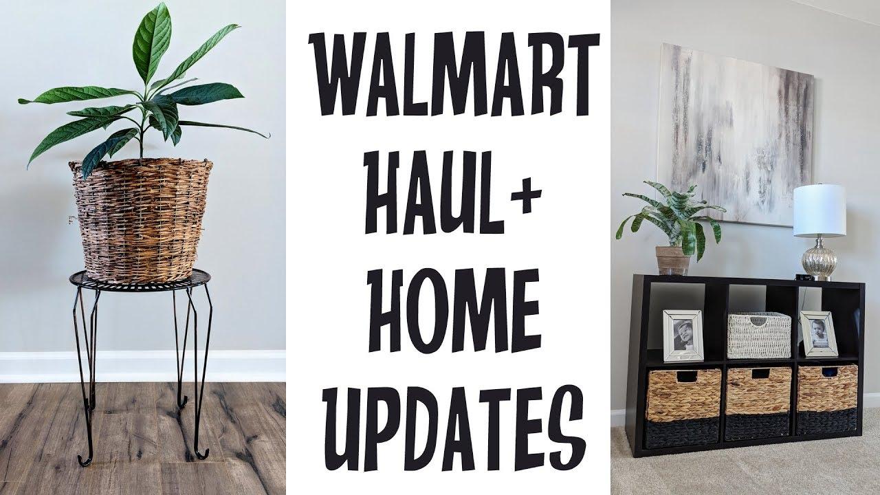 Mini Walmart Haul Home Decor Updates Thrifted DIY Makeover Ideas