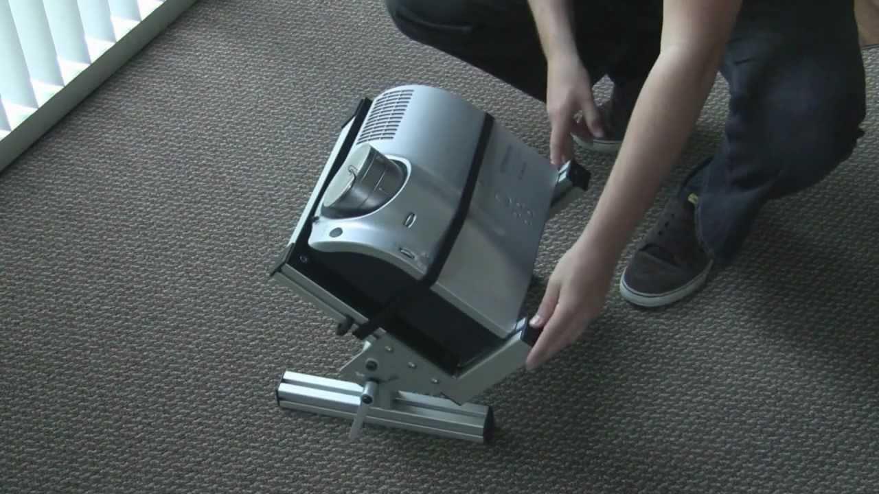 Adjustable Projector Stand Setup