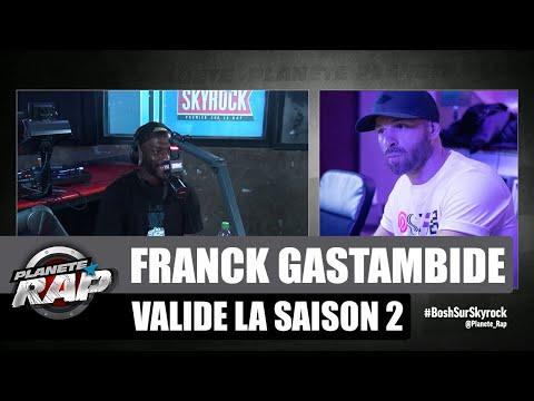 Youtube: [Exclu] Franck Gastambide nous parle de la saison 2 de Validé #PlanèteRap