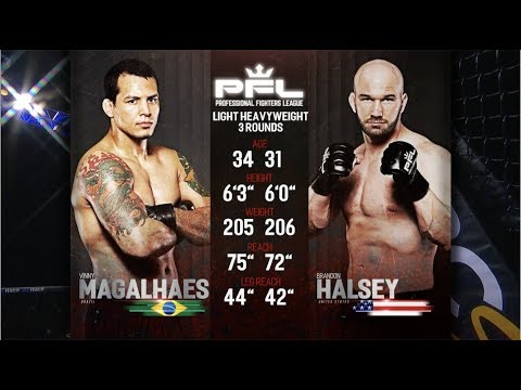 PFL Full Fight Friday: Vinny Magalhaes vs. Brandon Halsey