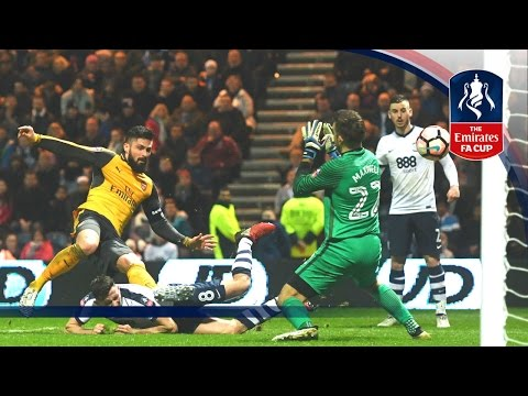 Preston North End 1-2 Arsenal - Emirates FA Cup 2016/17 (R3) | Goals & Highlights