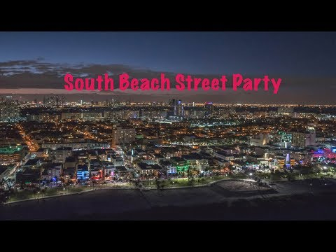 South Beach Super Bowl 2020 Street Party