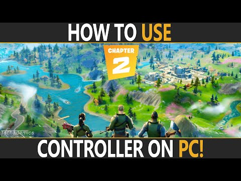 How To Use Controller On Fortnite PC | Use Xbox/PS4 Controller Fortnite PC