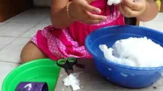 Cara membuat salju