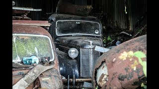 Abandoned Secret Car Graveyard With Incredible Classic Cars - Best Barn Finds (100K Classics) WOW