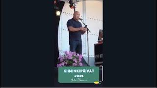 Kiiminkipäivät 2021. Juha Hännisen puhe