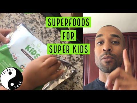 Superfoods For Developing Children | EpiGenius Kids